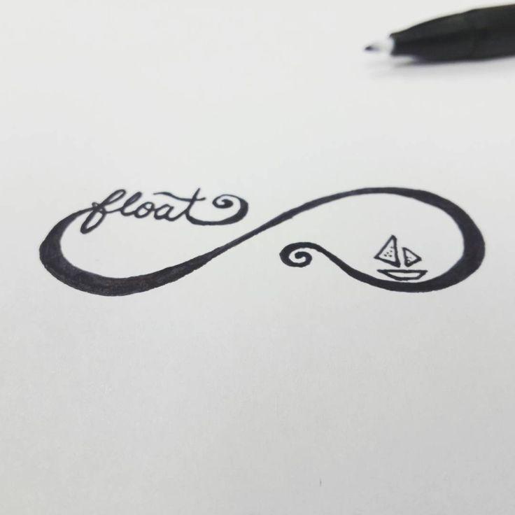 #tattoo #design #pen #pendrawing #tattoodesign #infinite #float
