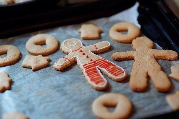 Душевное имбирное печенье. Рецепт с фото
