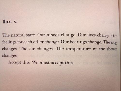 change is ok