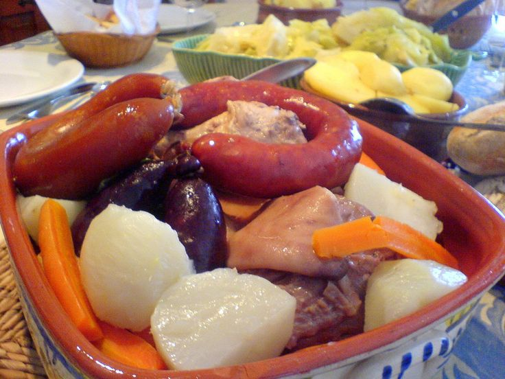 Cozido a Portuguesa - Recipes for Portuguese Meat - International Recipes
