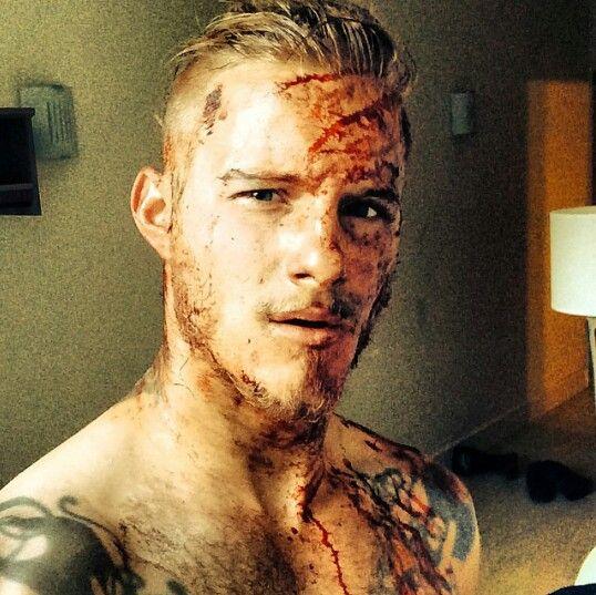 Alexander Ludwig as Bjorn, Ragnar's son, on Vikings TV series