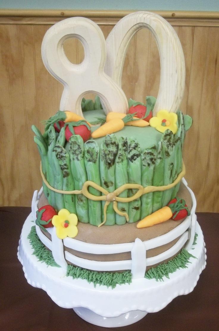 31 best BIRTHDAY CAKE IDEAS images on Pinterest   Garden cakes ...