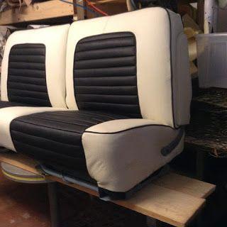 Bussone s.r.l.s: Selleria auto Rivestimento interno Lincoln 1957 in vera pelle