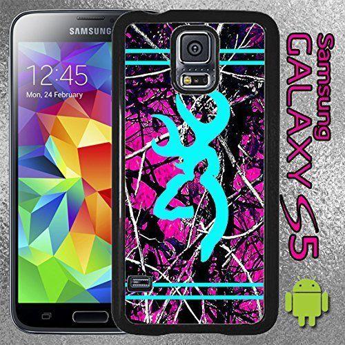 Samsung Galaxy S5 Hot Pink Camo Light Blue Buck Country Case Galaxy S5 V   #Samsung
