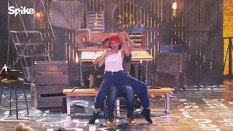 Jenna Dewan Tatum's Magic Mike Dance on Lip Sync Battle