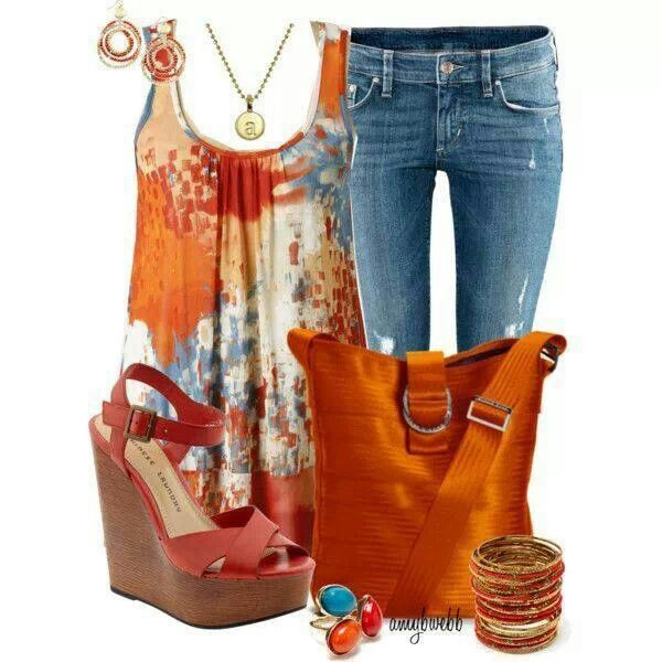 Bright colors this summer