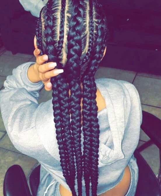 4 braids ideas
