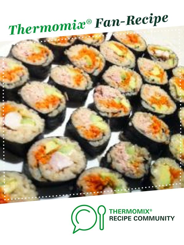 Thermomix Sushi Recipe Thermomix Recipes Recipes Rice Dishes Recipes