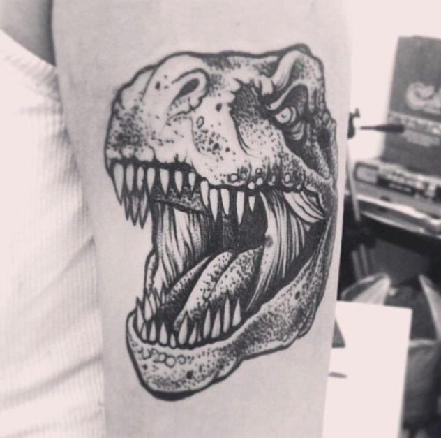 Alex Tabuns | um I'm down for a dinosaur tattoo
