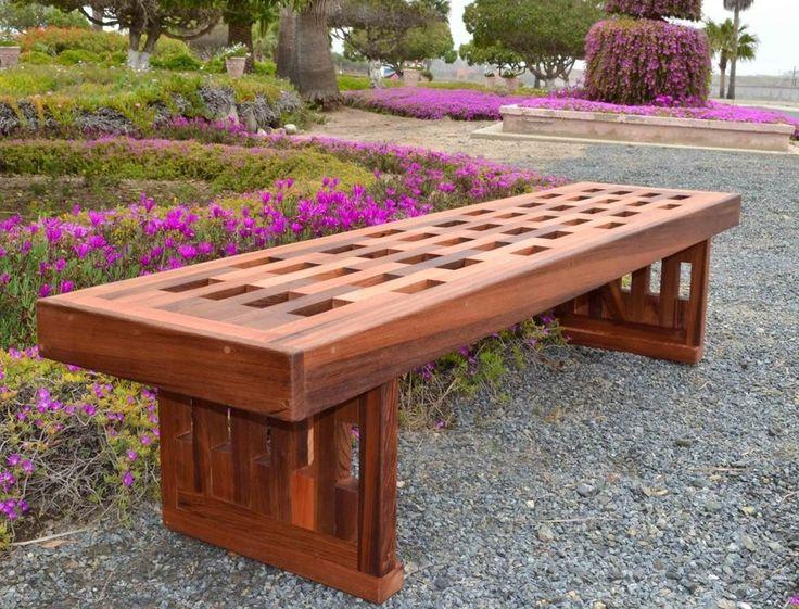 Garden Bench | The Best Wood Furniture, Wood Bench, Wood Bench Diy, Wood