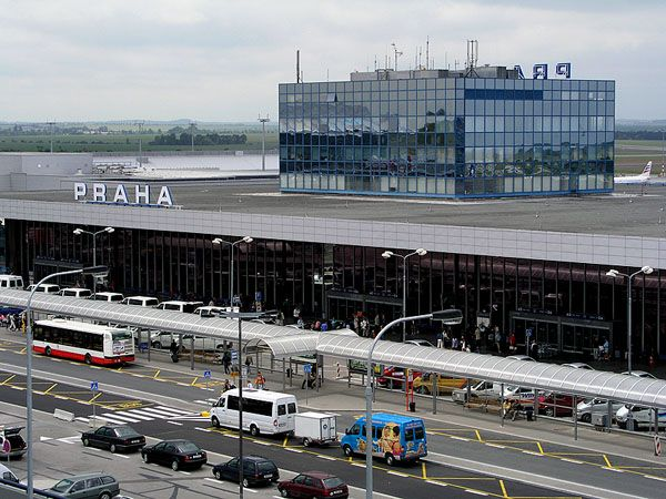 Ruzyně airport. For most foreigners is the very first contact with Prague. :)