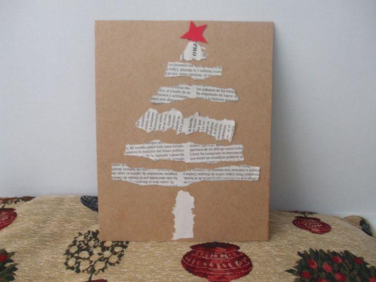 Visita el post para encontrar ideas para postales de Navidad. Hazle un detalle a tus seres queridos con tarjetas de Navidad como ésta. Nos ha encantado. ¡Es muy original! Para más pins como éste visita nuestro tablón. ¡Ah!  > No te olvides de hacer RePin! #navidad #postales #tarjetas #felicitaciones