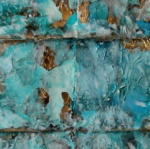 Ber ideen zu patina farbe auf pinterest edelrost - Bilder mit zeitungspapier ...