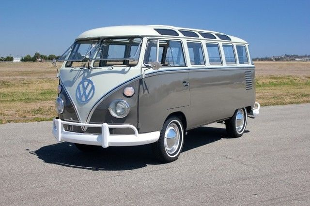 Image result for 23 window vw samba bus