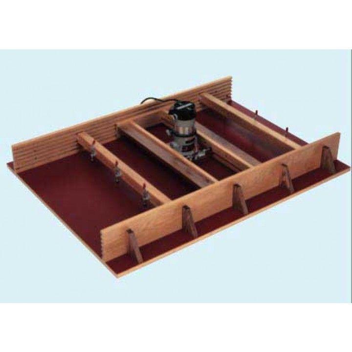 Woodworker's Journal Router Surfacing Jig Plan | Rockler Woodworking & Hardware