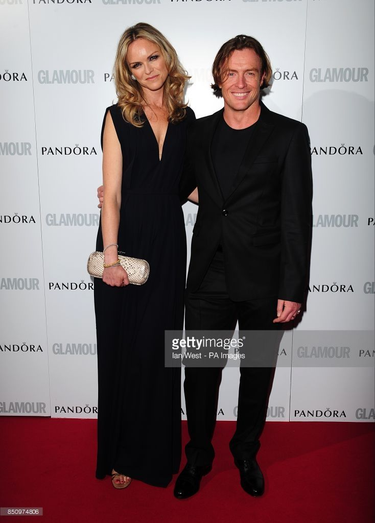 Toby Stephens and Anna-Louise Plowman at the 2013 Glamour Women of the Year Awards in Berkeley Square, London.