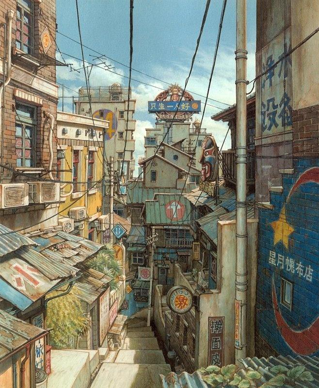 Tekkon Kinkreet, Taiyo Matsumoto
