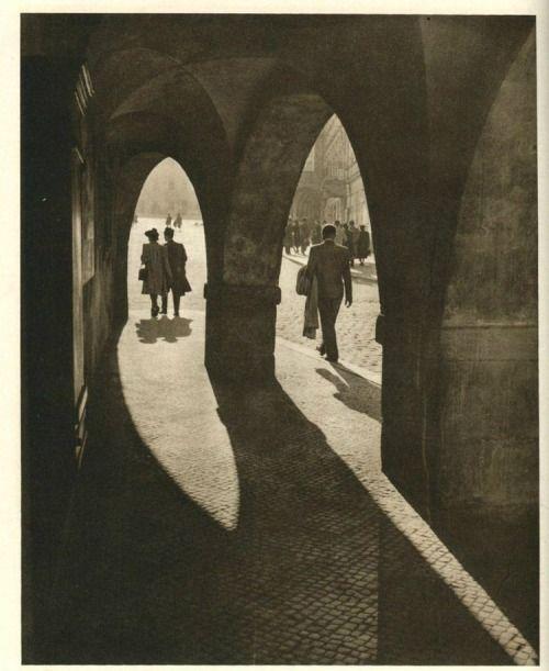 Prague in 30's: Hradcany by J.Zeman