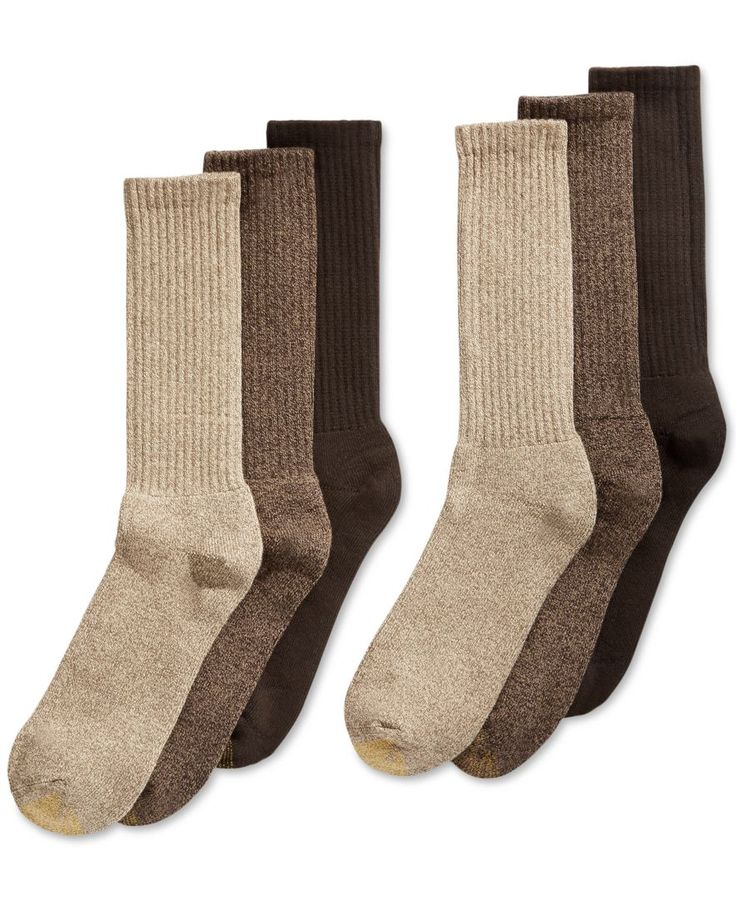 Robert: $15-16. I would like the blue color combo even though this picture is of brown. You can find these at Penny's too. You'll never sacrifice comfort for style when you have this 6 pack of Gold Toe socks, in colors that coordinate easily with much of your casual wardrobe. | Cotton/polyester/nylon/spandex | Machine was