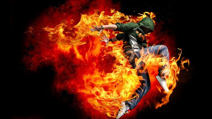 PHOTOSHOP CS6 TUTORIAL : Use Render Flames to add realistic fire in Photoshop CS6