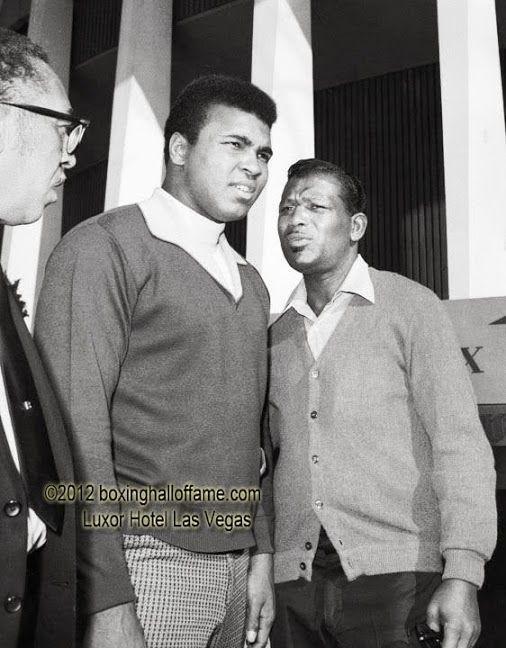 Muhammad Ali and Sugar Ray Robinson - Any Questions? boxinghalloffame.com