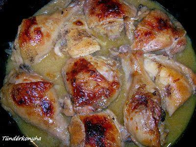 Tündérkonyha: Mustáros csirkecomb