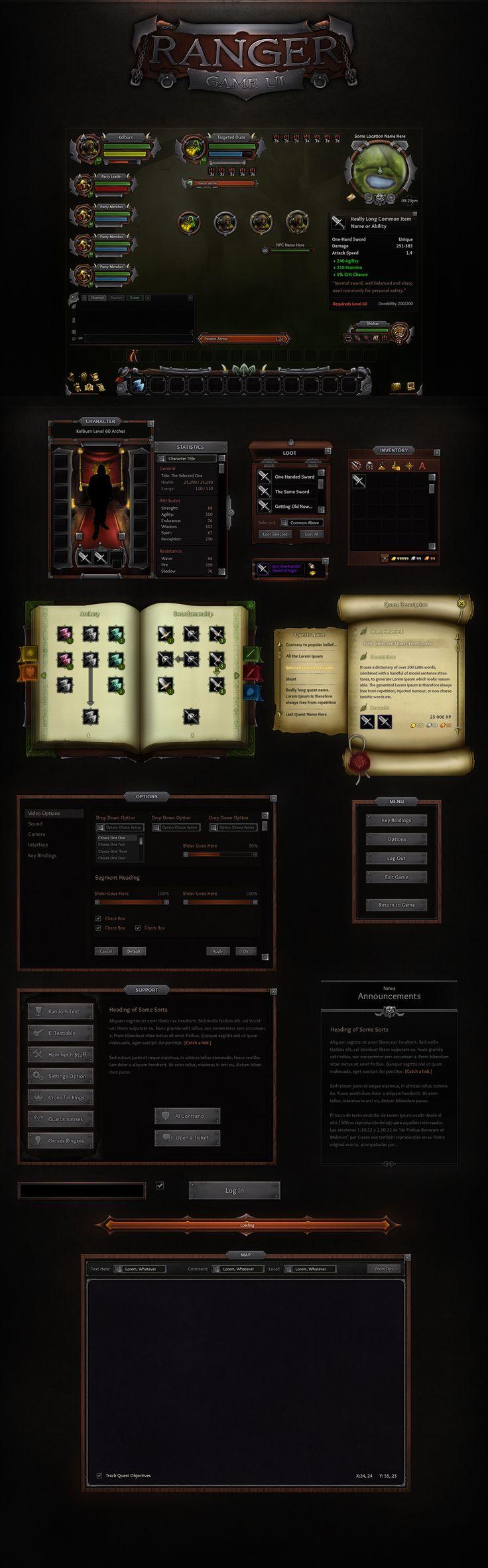 Ranger GUI by VengeanceMK1 on DeviantArt