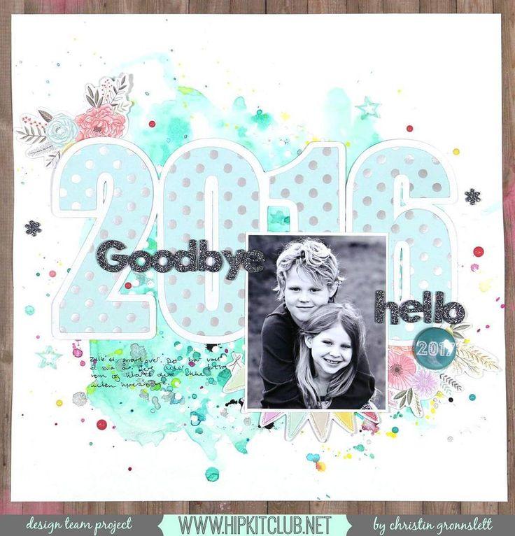 Cute New year's card