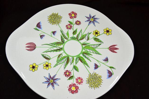 kuchenplatte vintage : ... com/product/79935771-Retro-Kuchenplatte-60er-Jahre-Gruenstadt-Keramik