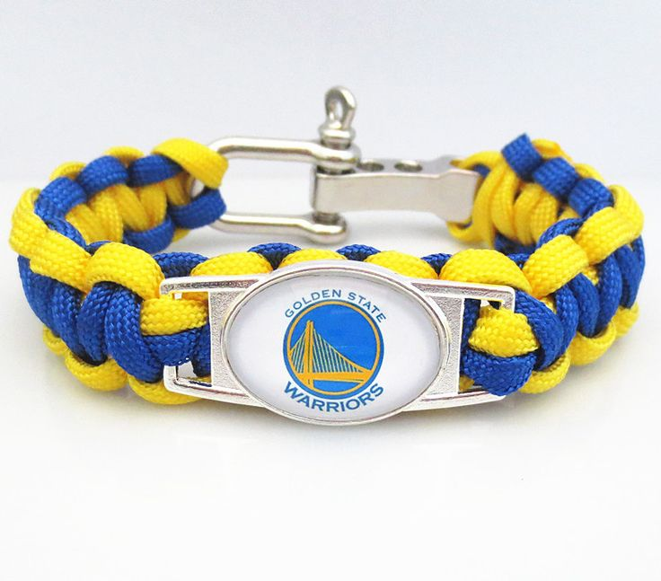 NBA GOLDEN STATE WARRIORS Paracord Bracelet