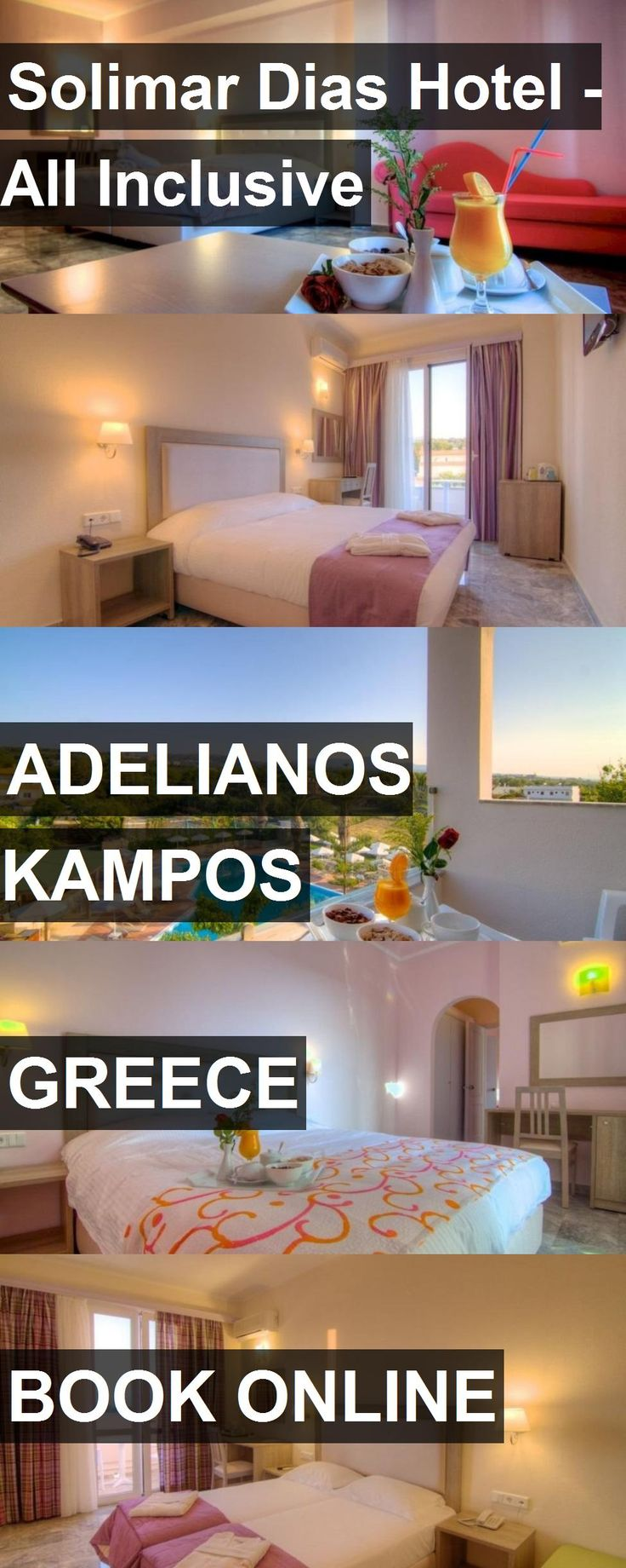 Hotel Solimar Dias Hotel - All Inclusive in Adelianos Kampos, Greece. For more information, photos, reviews and best prices please follow the link. #Greece #AdelianosKampos #SolimarDiasHotel-AllInclusive #hotel #travel #vacation