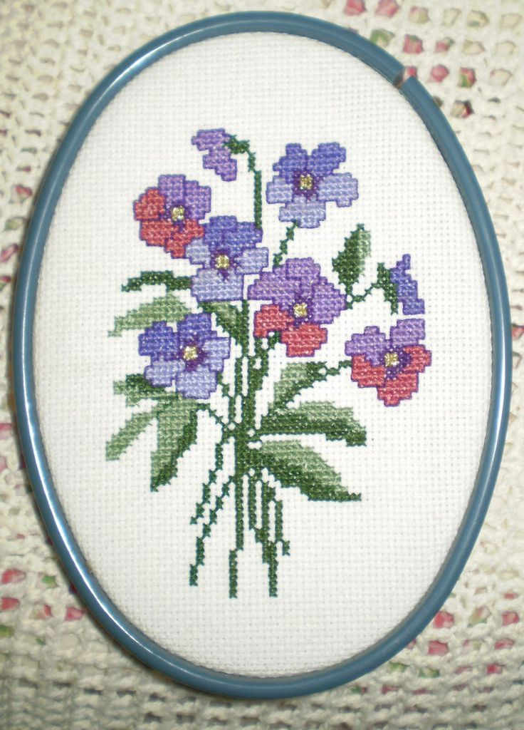 cross+stitch+images | cross stitch, framed it with the embroidery hoop I had used to stitch ...