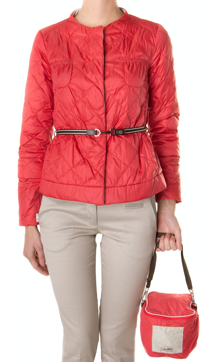 'S Max Mara modular and reversible down #jacket