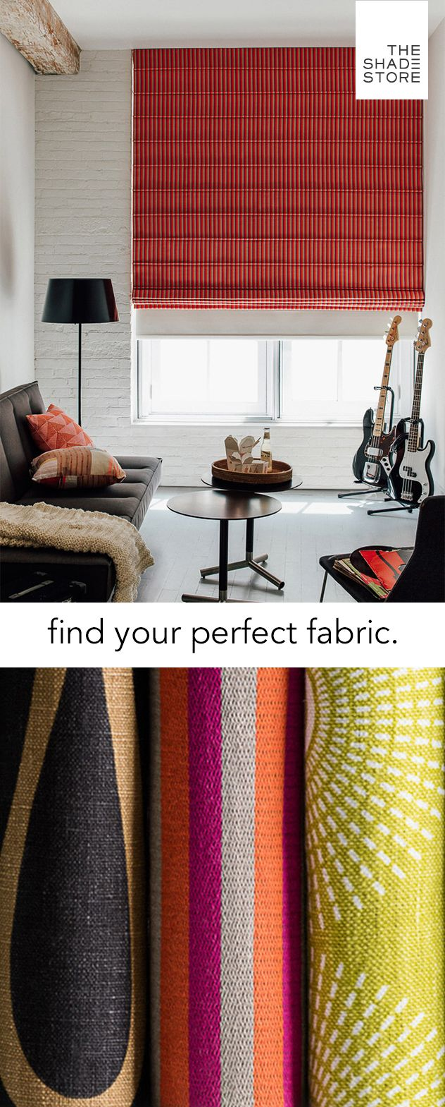 With 900+ materials, you're sure to find the perfect window treatment for your home. Order your free swatches today, and receive them in 1-3 business days.