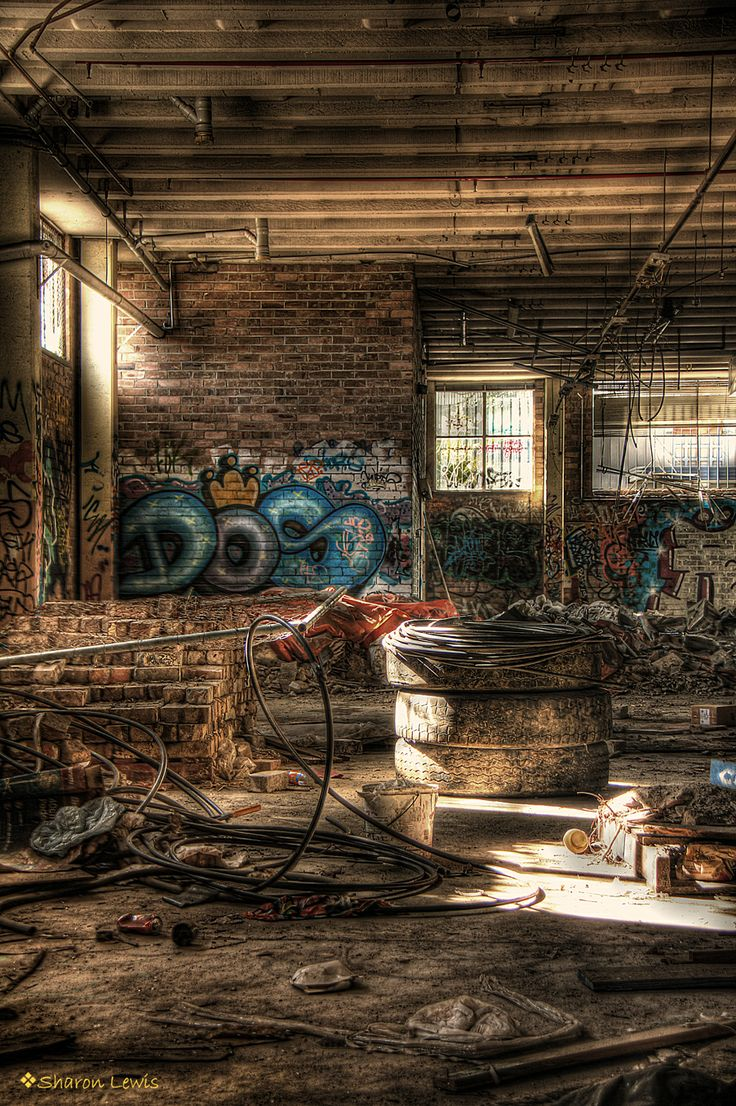 HDR photograph Dunlop Factory Sydney  http://sharonlewisphotography.com/