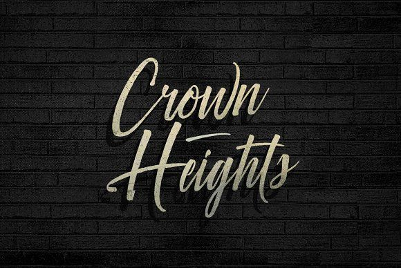 Crown Heights Font by BLKBK on @creativemarket