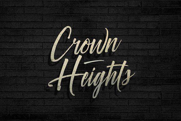Crown Heights by BLKBK on @creativemarket