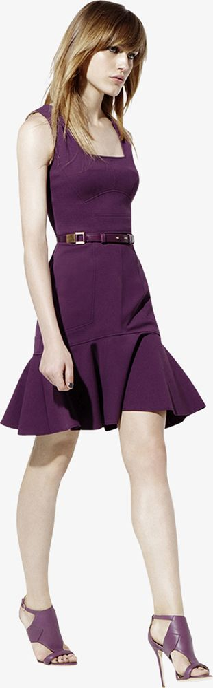 ELIE SAAB - Ready-to-Wear - Resort 2013 . Burgundy seen a lot in USA collections for our winter .