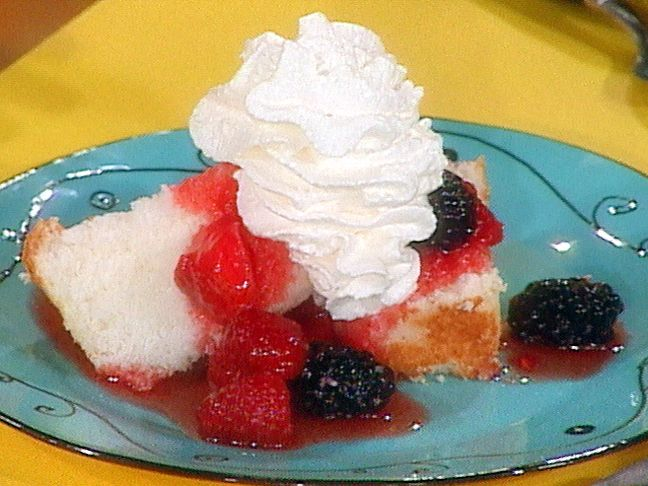 Http Www Foodnetwork Com Recipes Coffee Angel Food Cake Recipe