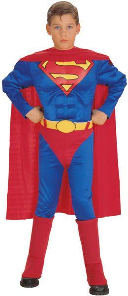 Lasten Naamiaisasu; Superman Deluxe  Lisensoitu Superman Deluxe asu. Silmälasit nurkkaan, trikoot niskaan ja Clark Kent pelastaa maailman jälleen. #naamiaismaailma