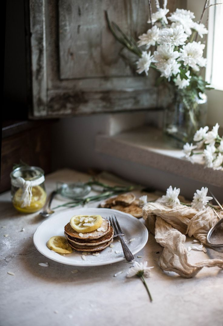 Vegan Sourdough Cinnamon Lemon Pancakes | Hortus Natural Cooking