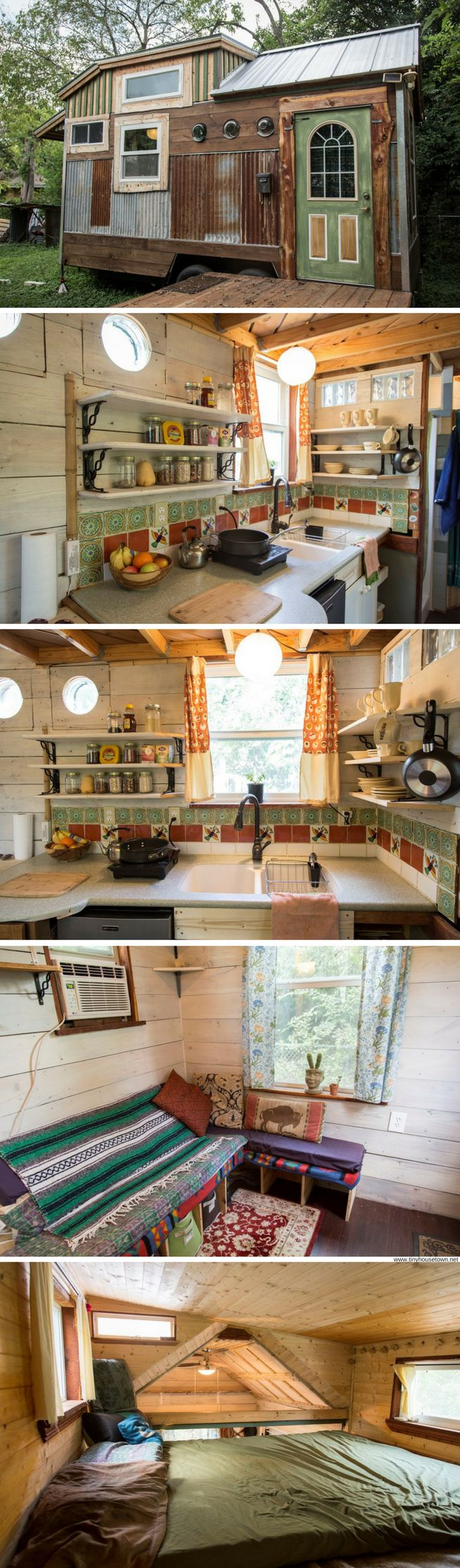 The Cedar Haven tiny house (200 sq ft) this ones my favorite