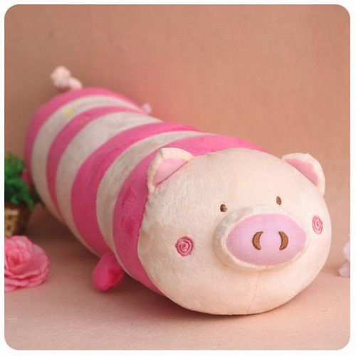 Pig Long Plush Pillow