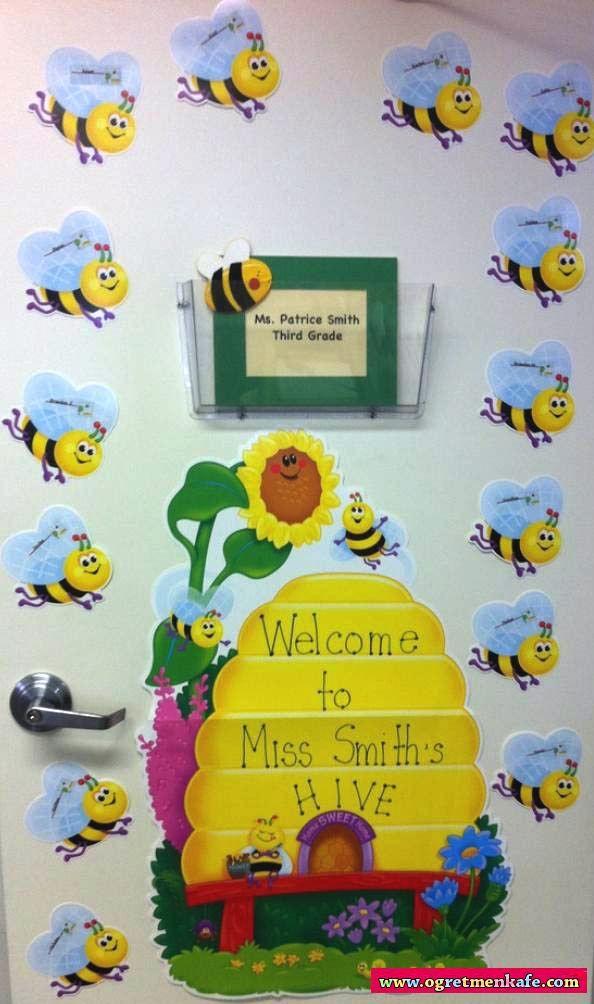 Arılardan sınıf süsleri