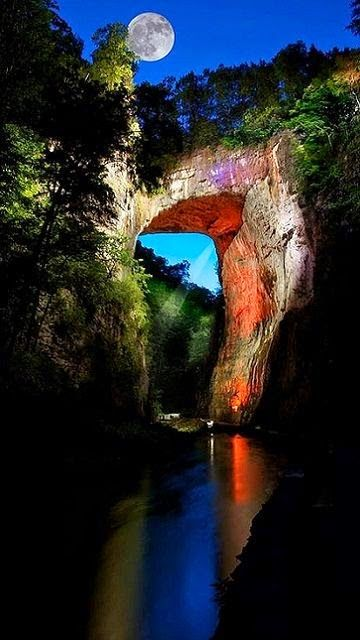 Natural Bridge - Blue Ridge Mountains, Virginia