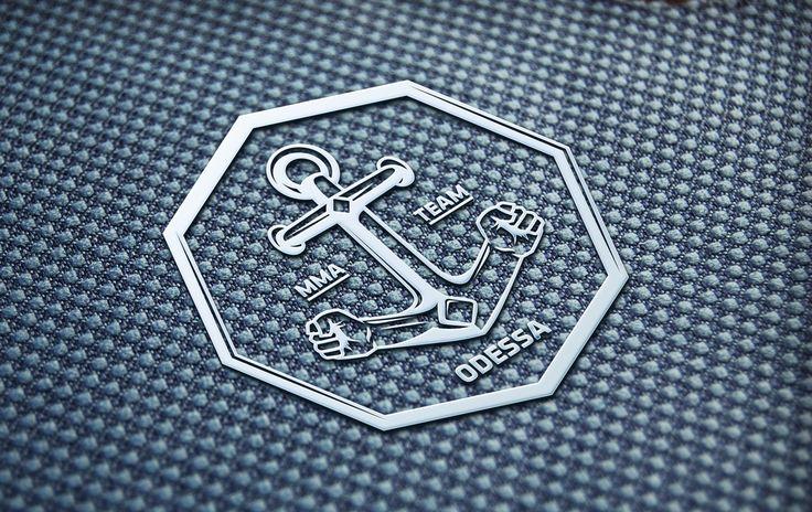 Мощный символ для «Odessa MMA Team». #logo #sport #odessa