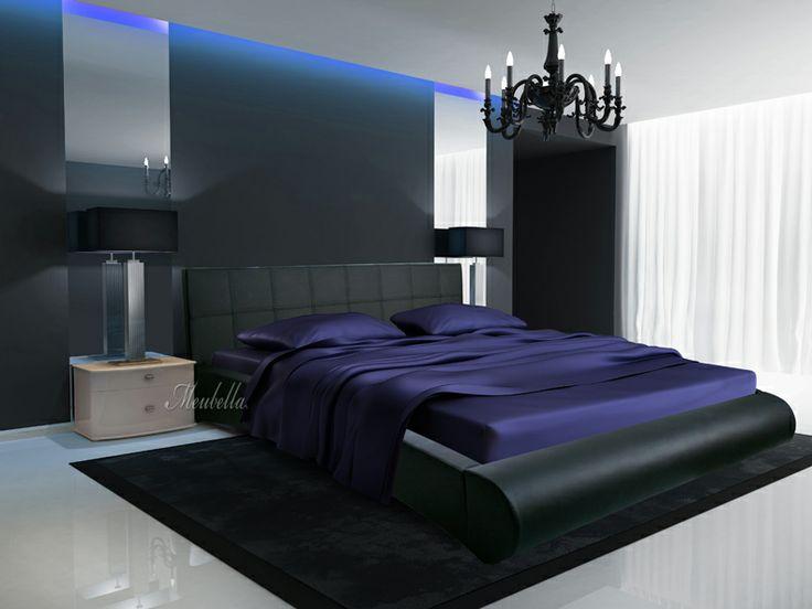 ... Pinterest - Zwarte hoofdeinde, Slaapkamers en Zwarte slaapkamer decor