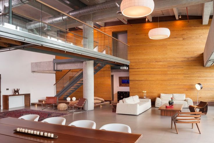Parc Loft - Picture gallery #architecture #interiordesign #loft #livingroom