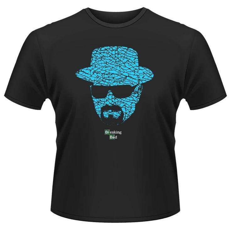 Tee-Shirt Noir Meth Slab Breaking Bad
