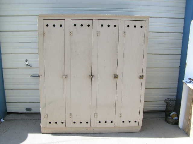 It's a long shot, but would love to find some old wooden lockers